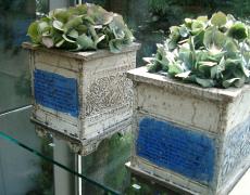 Pflanzgefäße aus Keramik