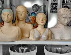 Keramik-Workshop im November 2014