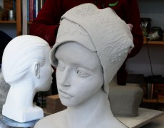 Workshop Kopf modellieren Okt. 17