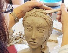 Workshop Kopf modellieren Okt. 18