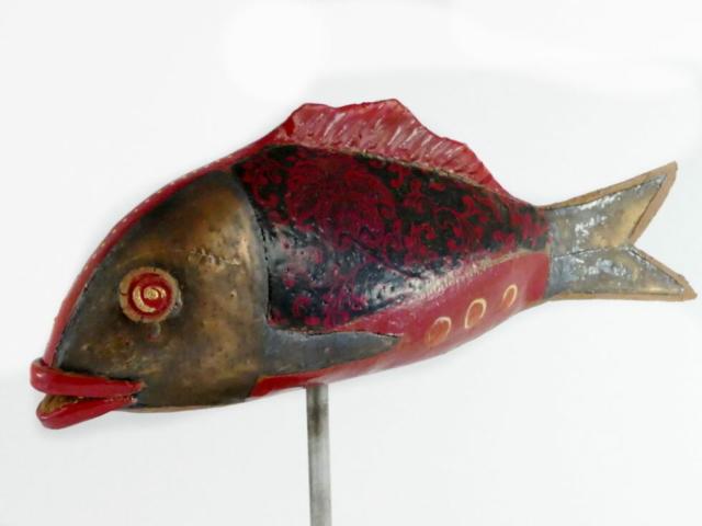Gartenkeramik Fisch