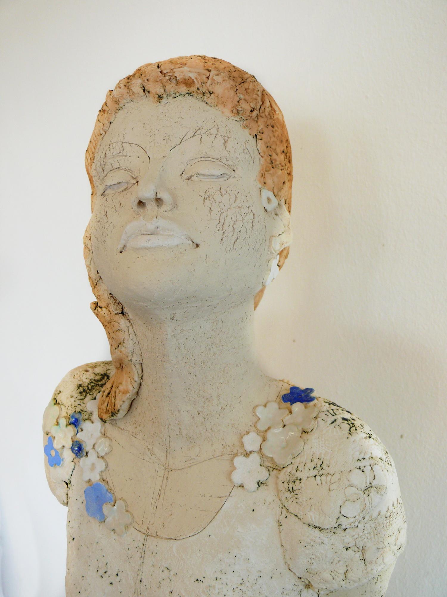 Skulptur Aus Keramik Imagine 105 Cm Gaby Puhmeyer Gaby Puhmeyer
